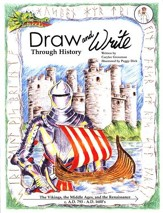 Draw and Write Through History Book 3: The Vikings, the Middle Ages, and the Renaissance