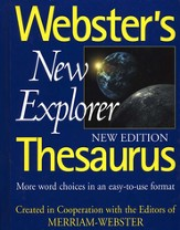 Webster's New Explorer Thesaurus (New Edition)