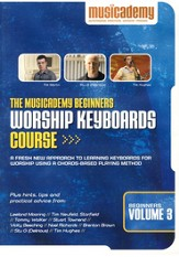 Beginners Worship Keyboard Course, Volume 3