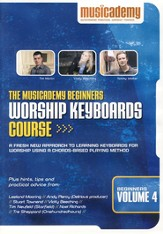 Beginners Worship Keyboard Course, Volume 4