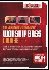 The Musicademy Beginners Worship Bass Course Box Set (Volumes 1-3)
