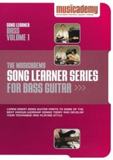 Song Learner Series for Bass Guitar, Volume 1
