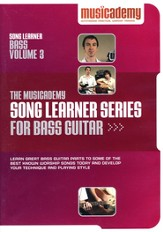 Song Learner Series for Bass Guitar, Volume 3