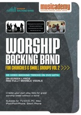 Worship Backing Band for Churches and Small Groups Volume 2