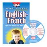 Bilingual Preschool: English-French CD/Book Kit