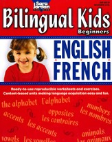 Bilingual Kids: English-French Resource Book for  Beginners