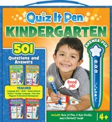 Quiz It Pen Boxed Set: Kindergarten