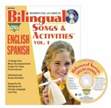 Bilingual Songs & Activities Volume 1 English-Spanish Audio CD