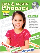 Sing and Learn Phonics, Volume 2 Audio CD