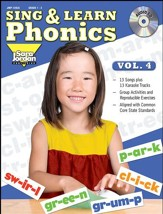 Sing and Learn Phonics, Volume 4 Audio CD