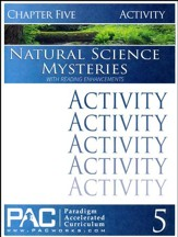 Natural Science Mysteries Activities Booklet, Chapter 5
