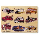 Transportation Peg Puzzle