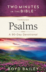 Two Minutes in the Bible Through Psalms: A 90-Day Devotional - eBook