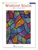 Worship Solos for Singers-High Voice (Book/CD)