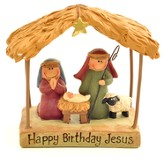 Happy Birthday Jesus Figurine