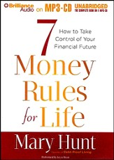 7 Money Rules for Life: How to Take Control of Your Financial Future - unabridged audiobook on MP3-CD