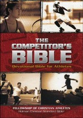 The Competitor's Bible, Brown Imitation Leather - Imperfectly Imprinted Bibles