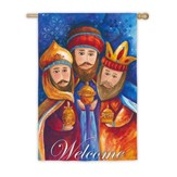 Welcome Wisemen Flag, Large