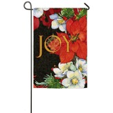 Joy Poinsettias Flag, Small