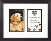 Guardian Angel Protect Dog, Framed Print