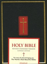 The Catholic Family Bible, (RSV) Black Hardcover
