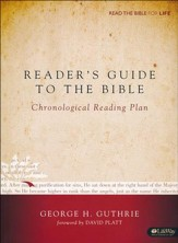 Reader's Guide to the Bible: A Chronological Reading Plan (Handbook)