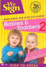 We Sign: Babies & Toddlers 2 DVD