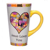 Jesus Loves You Latte Mug