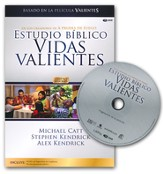 Estudio Biblico Vidas Valientes, Kit del Lider con DVD  (Courageous Living Bible Study, DVD Leader Kit)