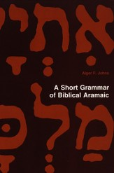 A Short Grammar of Biblical Aramaic