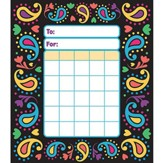 Perfectly Paisley Incentive Pad (Pad of 36 Charts)