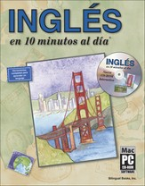 Inglés en 10 Minutos al Día con CD-ROM  (English in 10 Minutes a Day with CD-ROM)