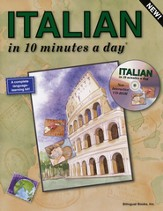 ITALIAN in 10 minutes a day® with CD-ROM