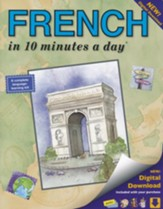 FRENCH in 10 minutes a day® with Digital Download