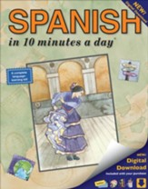 SPANISH in 10 minutes a day® with a Digital  Download
