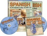 SPANISH in 10 Minutes a Day Kit with Audio CDs