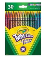 Crayola, Twistables Colored Pencils, 30 Pieces