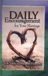 Daily Encouragement for Your Marriage - padded hardcover