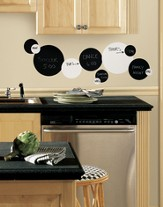 Chalkboard Dots Vinyl Wall Stickers