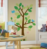 Dotted Tree, Vinyl Wall Stickers