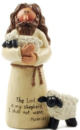 Jesus with Sheep, The Lord Is My Shepherd