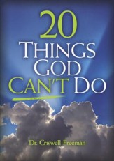 20 Things God Can't Do