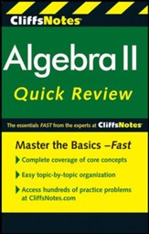 CliffsNotes Algebra II QuickReview, 2nd Edition - Slightly Imperfect