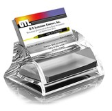 Acrylic Business Card Holder, Always Give Yourself To the Lord