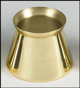 Brass Candle Follower, 2.5