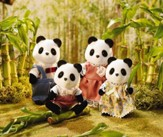 Calico Critters Wilder Panda Bear Family