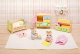 Calico Critters Tanner & Tallulah's Nursery Fun Time