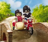 Calico Critters Motorcycle & Sidecar