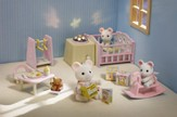 Calico Critters Nighlight Nursery Set
