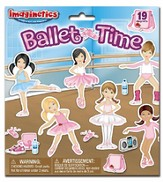 Ballet Time Magnetic Playset